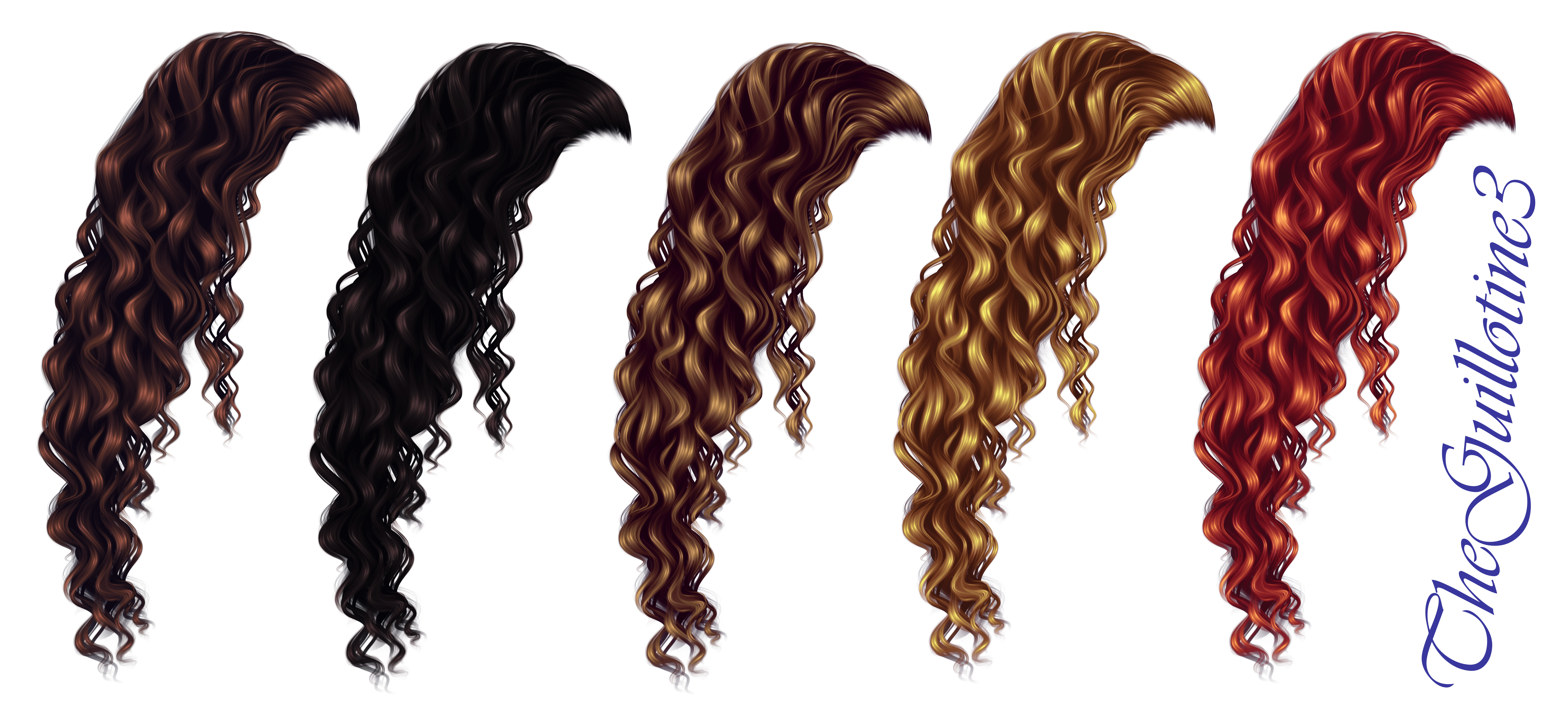 Curly Hair by TheGuillotine3 on DeviantArt.