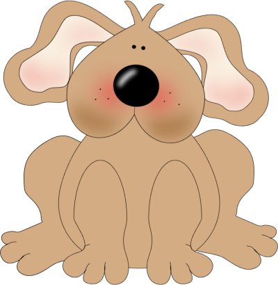 Brown Dog Clip Art.