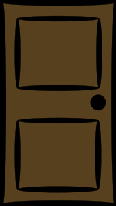 Door Clip Art Image.