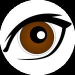 Brown Eye Clipart.