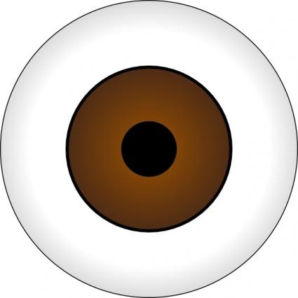 Cartoon Brown Eyes.