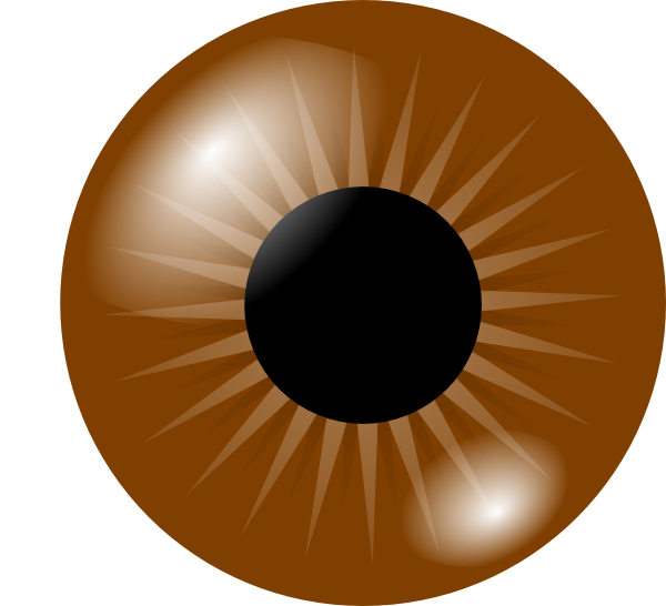 Best Brown Eyes Clipart #18278.