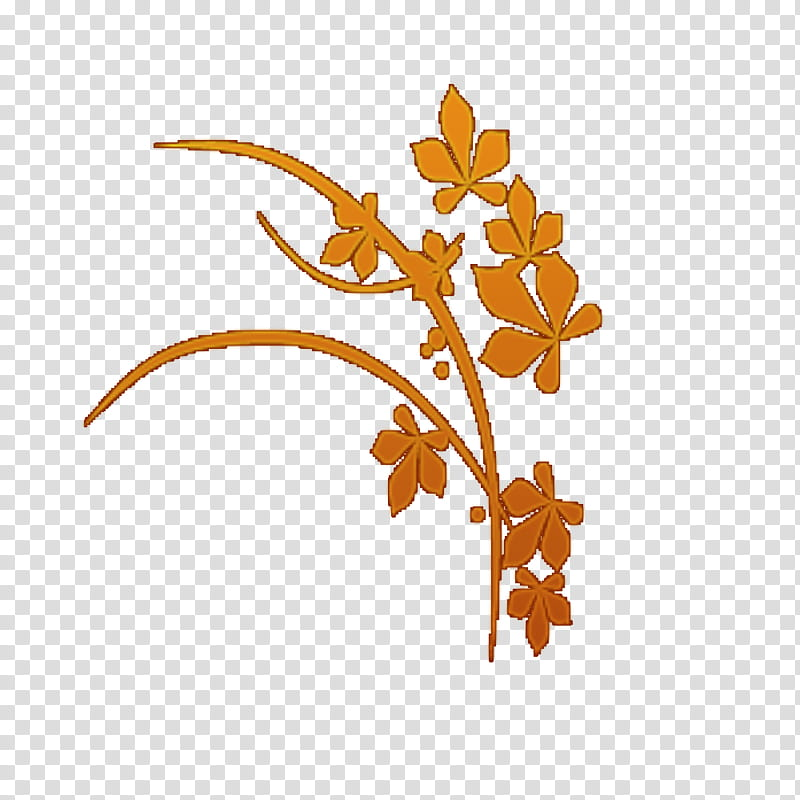 Recursos Para Scape, brown flowers illustration transparent.