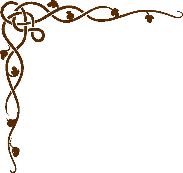 Brown Scroll Clip art.