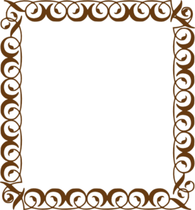 Brown Frame Clipart.