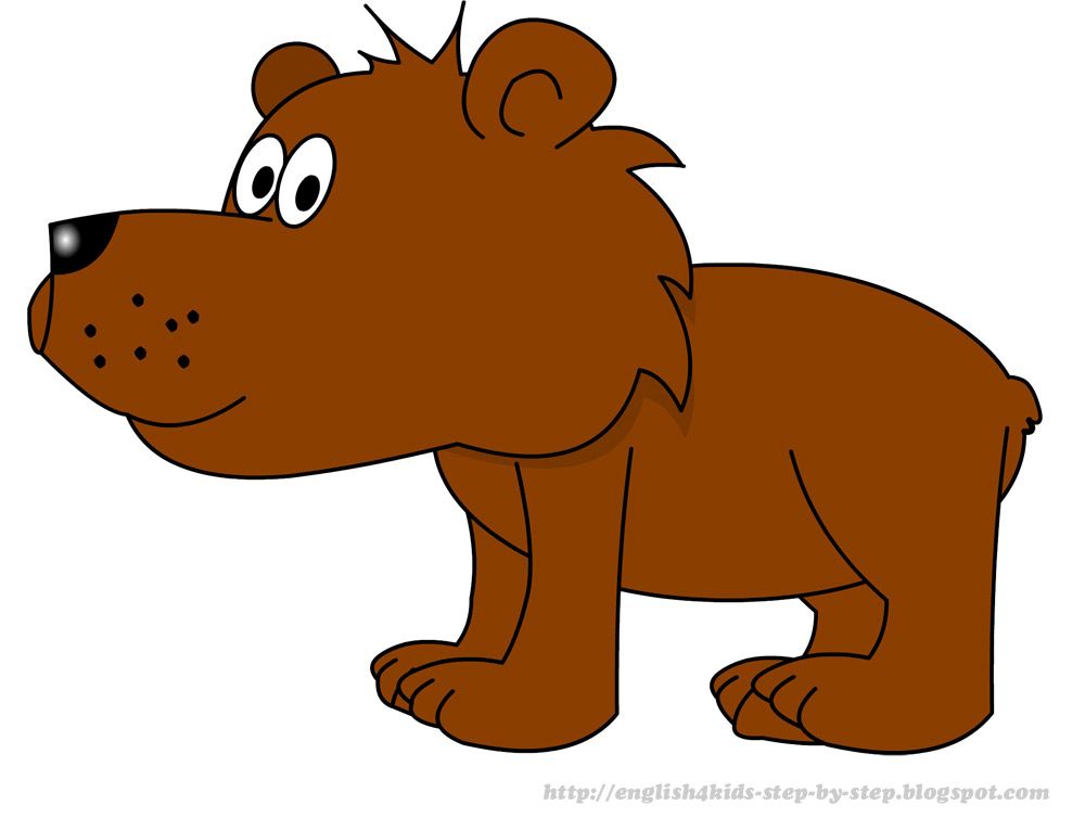 Bear Cartoon Clipart.