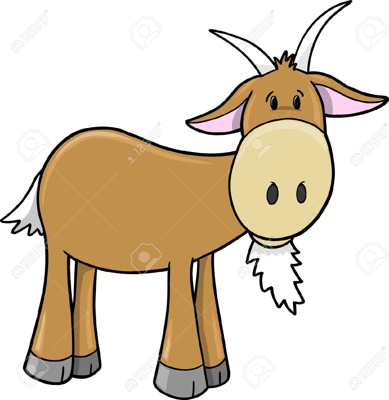 Brown goat clipart 20 free Cliparts | Download images on