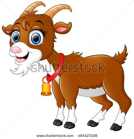 Goat Cartoon Stock Photos, Royalty.