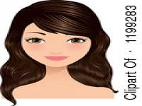 Brown Hair And Brown Eyes Clipart.