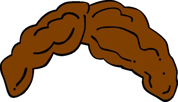 Brown Hair Clipart.