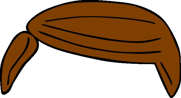 Brown Hair Clipart