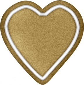 brown heart clipart #2