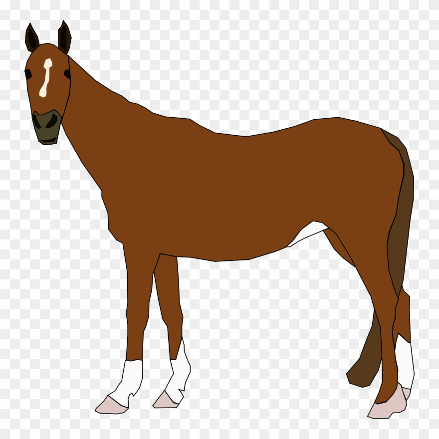 Free Vector Horse Clip Art.