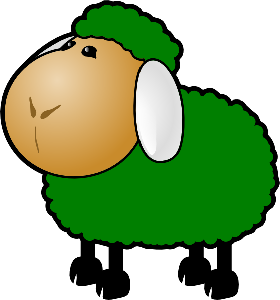Sheep lamb clipart 2 clipartix.