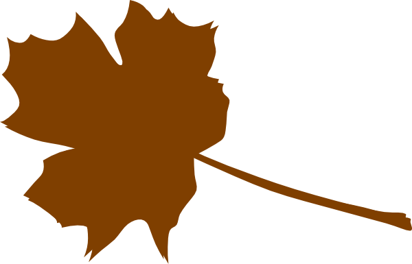 Brown Leaf Clipart.