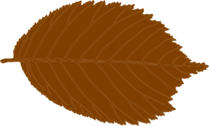 Brown Leaf Clip Art at Clker.com.