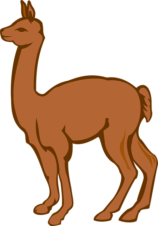 Free vector graphic: Llama, Creature, Farm, Animal.