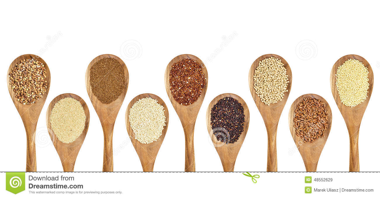 Gluten Free Grain Abstract Stock Photo.