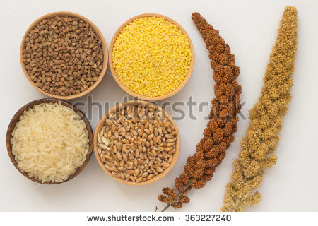 Millets Stock Photos, Royalty.