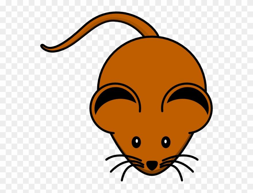 Brown Mouse Clip Art.