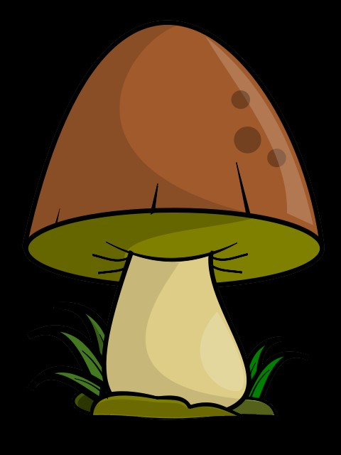 Mushroom Clipart Page 1.