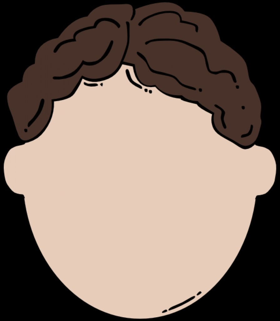 Face without nose clipart face without nose clipart back of brown.