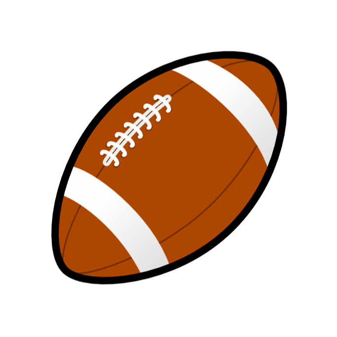 Tiny Football Graphics Clipart.