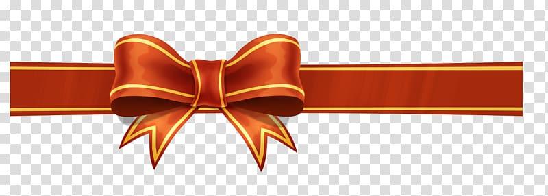 Brown ribbon , Ribbon Gift Icon, Festive gift bow.