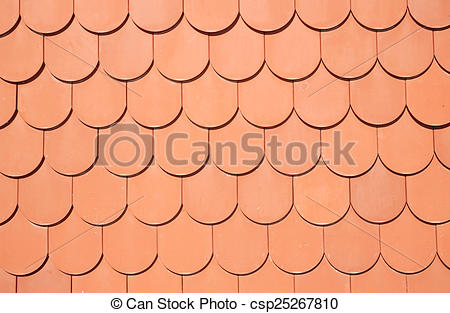 Stock Photography of seamless texture of brown roof csp25267810.