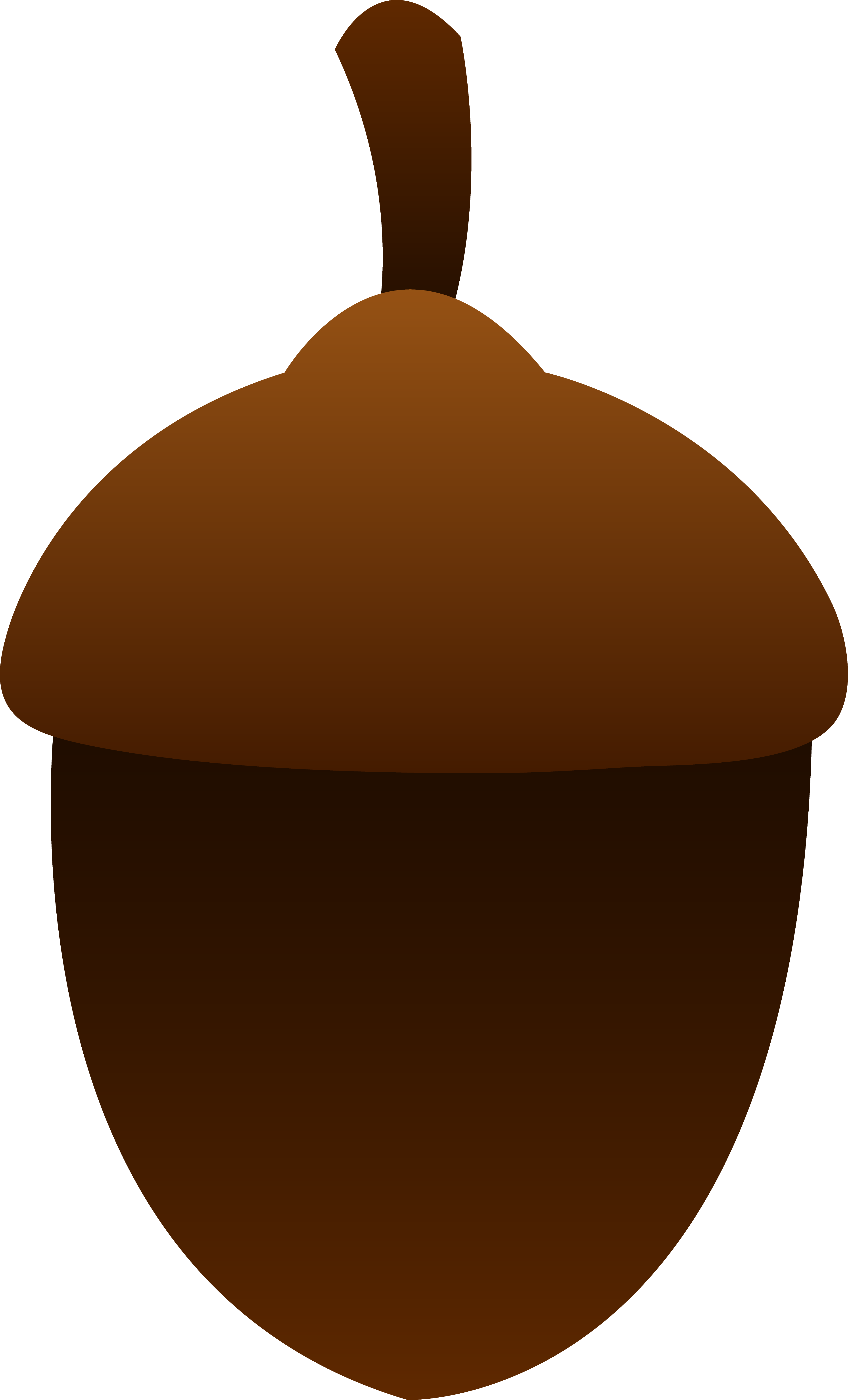 Simple Brown Acorn.