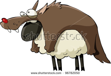 Wolf Sheep Stock Photos, Royalty.