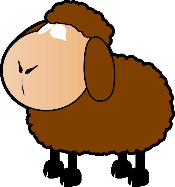 Brown Sheep Clip Art at Clker.com.