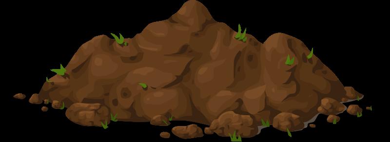 Brown Dirt Clipart.