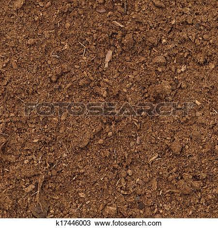 Stock Photo of Peat Turf Macro Closeup, large detailed brown.