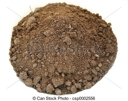 Soil By Size Clipart.