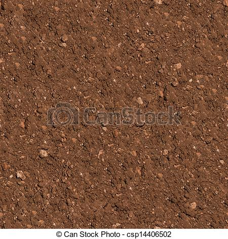Stock Illustration of Soil. Seamless Texture..