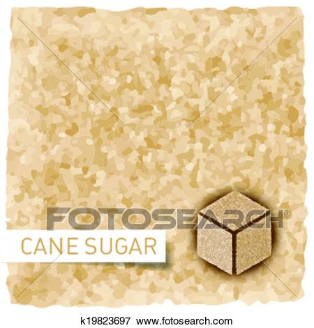 Brown sugar background Clip Art.