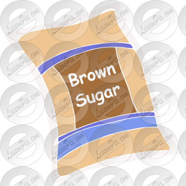 Brown Sugar Stencil for Classroom / Therapy Use.