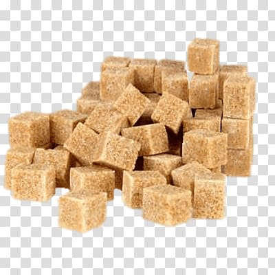 Brown sugar Irish coffee Sugar cubes, Coffee transparent background.