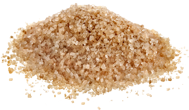 Brown Sugar PNG Image Background.
