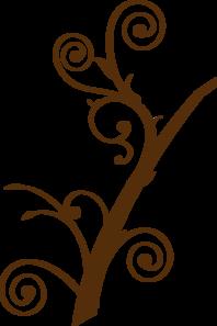 Brown Tree Branch Clip Art at Clker.com.