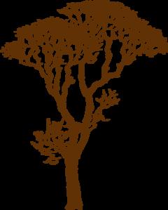 Brown Tree Clip Art at Clker.com.