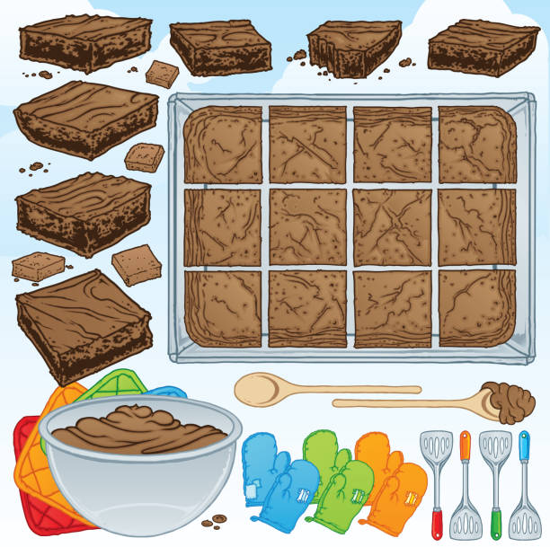 Best Brownie Illustrations, Royalty.