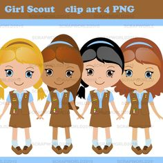 Download Free png Girl Scout Brownie Elf Clip A.