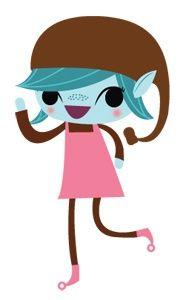 Girl Scout Brownie Elf Clip Art.