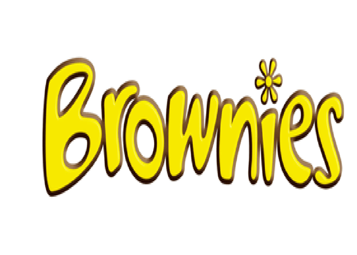 Girl Scout Brownie Logo clipart free image.