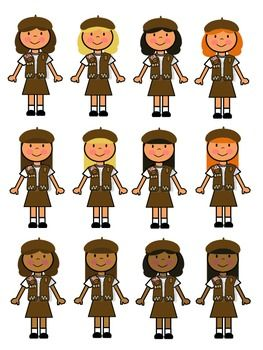 Brownie girl scout clip art brownie girl scouts girl scouts.