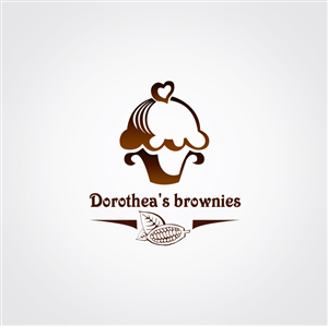 Brownie logo design.