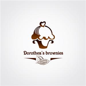Brownie logo design.