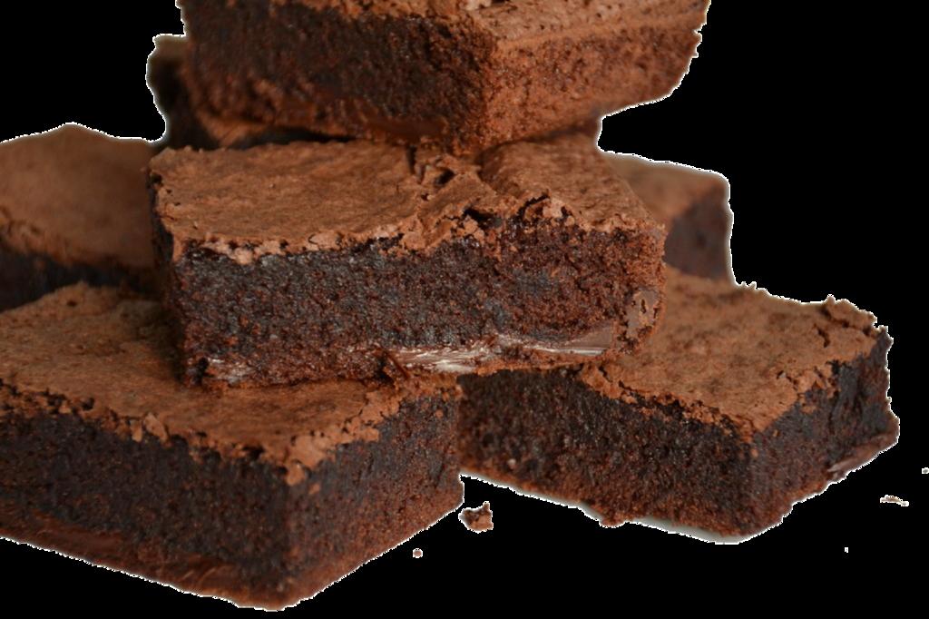Belgian Chocolate Brownies.